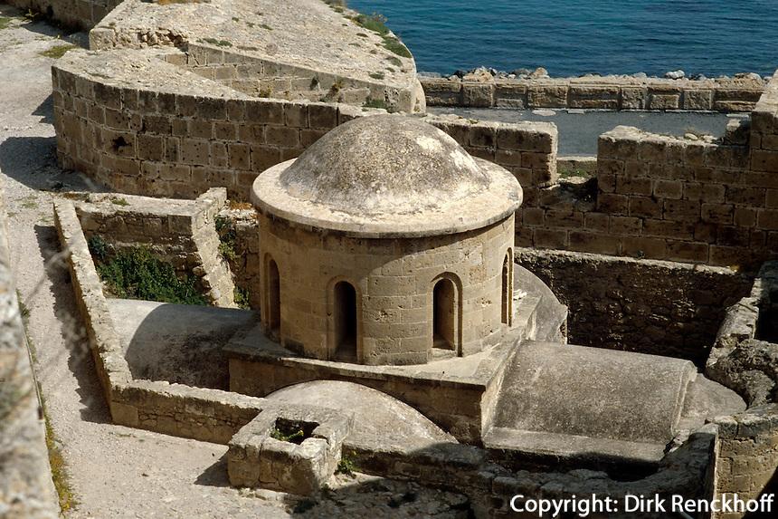 Nordzypern, in der Zitadelle von Girne