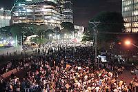 SÃO PAULO, SP - 17.06.2013: PROTESTO PASSE LIVER - Milhares de manifestantes ocupam a Av Chedid Javief durante o 5 Grande ato contra o aumento da passagem organizado pelo Movimento Passe Livre em São Paulo nesta 2 feira (17). (Foto: Marcelo Brammer/Brazil Photo Press)