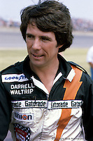 Darrell Waltrip at a 1979 NASCAR race at Michigan International Speedway near Brooklyn, Michigan.