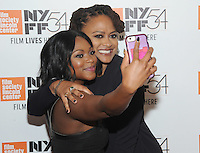 NEW YORK, NY - SEPTEMBER 30:  Naturi Naughton and Director Ava DuVernay attends the 54th New York Film Festival opening night gala presentation and '13th' world premiere at Alice Tully Hall at Lincoln Center on September 30, 2016 in New York City.  Photo Credit: John Palmer/MediaPunch