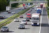 M6 motorway near Garstang, Lancashire.