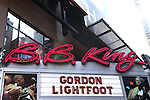 Gordon Lightfoot (Theatre Marquee)  performing a concert at B.B. King Blues Club & Grill, New York, NY, on September 14, 2012