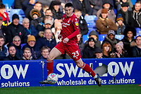 1st February 2020; St Andrews, Birmingham, Midlands, England; English Championship Football, Birmingham City versus Nottingham Forest; Joe Lolley of Nottingham Forest breaks down the wing with the ball