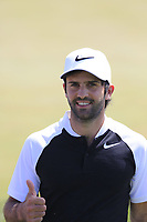 Joel Stalter (FRA) walks onto the 1st tee to start his match during Friday's Round 2 of the 117th U.S. Open Championship 2017 held at Erin Hills, Erin, Wisconsin, USA. 16th June 2017.<br /> Picture: Eoin Clarke | Golffile<br /> <br /> <br /> All photos usage must carry mandatory copyright credit (&copy; Golffile | Eoin Clarke)