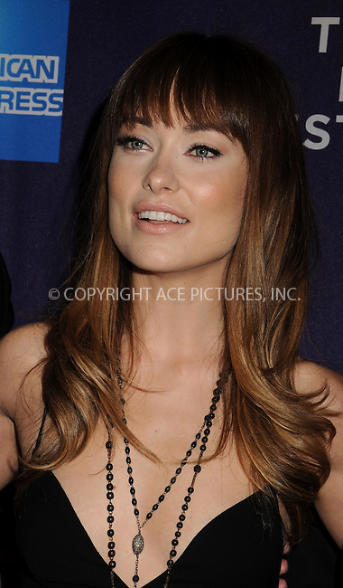 WWW.ACEPIXS.COM . . . . .  ....April 22 2011, New York City....Actress and producer Olivia Wilde at the One For All Shorts Program during the 10th annual Tribeca Film Festival at Chelsea Clearview Cinema on April 22, 2011 in New York City.....Please byline: JOE EAST - ACE PICTURES.... *** ***..Ace Pictures, Inc:  ..Philip Vaughan (212) 243-8787 or (646) 679 0430..e-mail: info@acepixs.com..web: http://www.acepixs.com