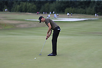 Sebastian Heisele (GER) putts on the 12th green during Saturday's Round 3 of the Porsche European Open 2018 held at Green Eagle Golf Courses, Hamburg Germany. 28th July 2018.<br /> Picture: Eoin Clarke | Golffile<br /> <br /> <br /> All photos usage must carry mandatory copyright credit (&copy; Golffile | Eoin Clarke)