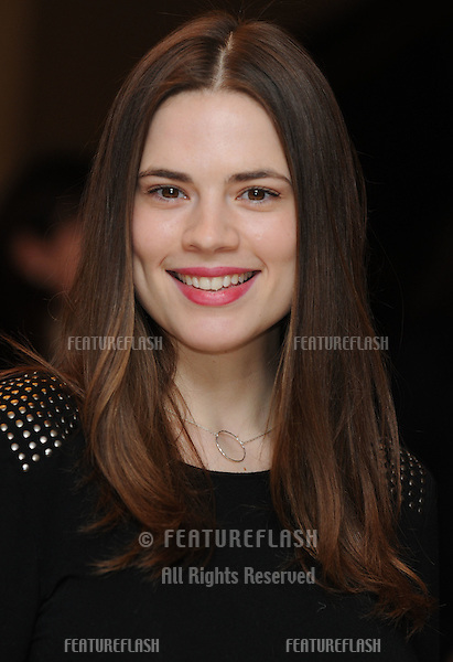 Hayley Atwell arriving at The Women In Film And Television Awards 2009, at The Hilton, Park Lane, London. 04/12/2009.  Picture By: Steve Vas / Featureflash