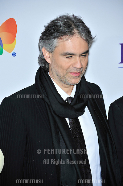 Andrea Bocelli at music mogul Clive Davis' annual pre-Grammy party at the Beverly Hilton Hotel..February 9, 2008  Los Angeles, CA.Picture: Paul Smith / Featureflash