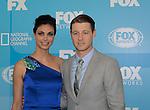 Morena Baccarin & Ben McKenzie - Gotham - FOX 2015 Programming Presentation on May 11, 2015 at Wolman Rink, Central Park, New York City, New York.  (Photos by Sue Coflin/Max Photos)