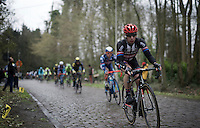 CX heavyweight Lars Van der Haar (NLD/Giant-Alpecin) riding the cobbles with the road team in this race<br /> <br /> 104th Scheldeprijs 2016