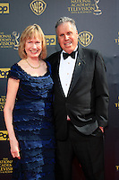 BURBANK - APR 26: Malachy Wienges, wife at the 42nd Daytime Emmy Awards Gala at Warner Bros. Studio on April 26, 2015 in Burbank, California