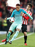 Athletic de Bilbao's Xabier Etxeita (r) and FC Barcelona's Neymar Santos Jr during Spanish Kings Cup match. January 05,2017. (ALTERPHOTOS/Acero)