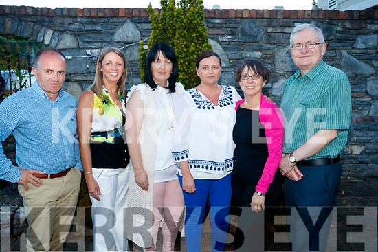 Enjoying the IT Tralee Barbecue at the Meadowlands Hotel, Tralee on Saturday night last, were l-r: Brendan O'Donnell, Carmel Kenny, Majella Pierce, Fiona Tobin, Mary Roe Stafford and Oliver Murphy.
