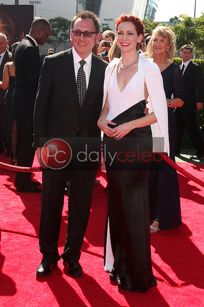 Michael Emerson, Carrie Preston<br />