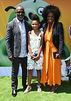 "10 August 2019 - Westwood, California - Genesis Tennon, Viola Davis. Sony's ""The Angry Birds Movie 2"" Los Angeles Premiere held at Regency Village Theater.   <br /> CAP/ADM/BT<br /> ©BT/ADM/Capital Pictures"