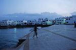 Village de la La caleta rendez vous des surfeurs. Ile de Lanzarote.