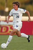 Abby Wambach of the Washington Freedom. The Freedom defeated the NY Power 4-2 on Saturday August 10, at Mitchel Athletic Complex, Uniondale, NY.