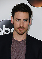 06 August  2017 - Beverly Hills, California - Colin O'Donoghue.   2017 ABC Summer TCA Tour  held at The Beverly Hilton Hotel in Beverly Hills. <br /> CAP/ADM/BT<br /> &copy;BT/ADM/Capital Pictures