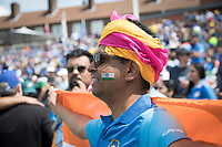 Indian fans made sure the Oval was full of colour during India vs Australia, ICC World Cup Cricket at The Oval on 9th June 2019