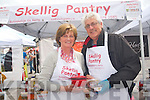 Harry and Ann Perry of the Skellig Pantry in Ballinskelligs at the Kenmare Food Carnival last weekend.