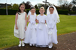 09/05/2015 - Mornington Communion – Niamh O'Brien, Síne Calvey, Aine O'Keefe and Amelia Piper. Picture: www.newsfile.ie