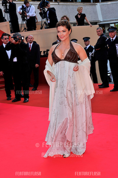 """Laura Harring at premiere for """"Synecdoche, New York"""" at the 61st Annual International Film Festival de Cannes. .May 23, 2008  Cannes, France..Picture: Paul Smith / Featureflash"""