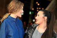 LOS ANGELES - FEB 14: Kate Bosworth, Demi Lovato at the Topshop Topman LA Grand Opening at The Grove on February 14, 2013 in Los Angeles, California