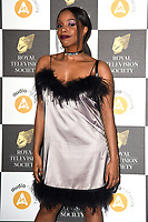 LONDON, UK. March 19, 2019: London Hughes arriving for the Royal Television Society Awards 2019 at the Grosvenor House Hotel, London.<br /> Picture: Steve Vas/Featureflash