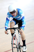 Callum Walsh of Auckland compete in the U17 Boys 750m Team Sprint final at the Age Group Track National Championships, Avantidrome, Home of Cycling, Cambridge, New Zealand, Sunday, March 19, 2017. Mandatory Credit: © Dianne Manson/CyclingNZ  **NO ARCHIVING**