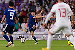 Endo Wataru of Japan in action during the AFC Asian Cup UAE 2019 Semi Finals match between I.R. Iran (IRN) and Japan (JPN) at Hazza Bin Zayed Stadium  on 28 January 2019 in Al Alin, United Arab Emirates. Photo by Marcio Rodrigo Machado / Power Sport Images