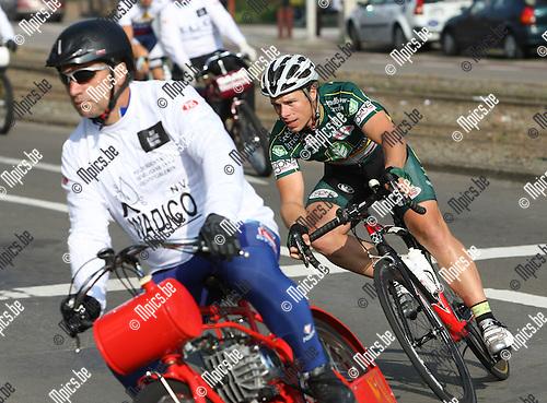 2008-08-30 / Wielrennen / Derny's Deurne / Radomir Simunek Jr...Foto: Maarten Straetemans (SMB)