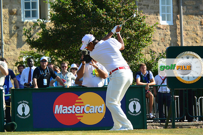 Hideki MATSUYAMA (JAP) during round two of  The 142th Open Championship Muirfield, Gullane, East Lothian, Scotland 19/7/2013<br /> Picture Fran Caffrey www.golffile.ie: