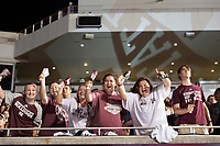 Bulldog fans of all ages attended Mississippi State&rsquo;s seventh annual Cowbell Yell at Davis Wade Stadium Thursday night [Sept. 14]. The pep rally is sponsored by the MSU Student Association and Department of Athletics. <br />