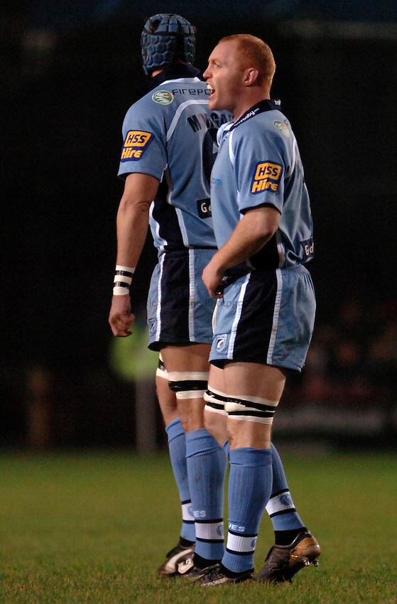 Photo: James Davies..Cardiff Blues v Ospreys. Magners Celtic League. 23/12/2006..Martyn Williams / Cardiff Blues