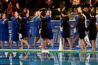Saluto iniziale tra le due squadre <br /> Roma 06/01/2019 Centro Federale  <br /> Final Six Pallanuoto Donne Coppa Italia <br /> SIS Roma - Rapallo Pallanuoto Finale 1-2 posto <br /> Foto Andrea Staccioli/Deepbluemedia/Insidefoto