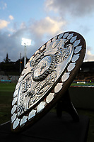 Ranfurly Shield during the Mitre 10 Cup Ranfurly Shield Rugby Match between Taranaki and Manawatu at Yarrow Stadium, New Plymouth, Auckland,  New Zealand. Wednesday 11th October 2017. Photo: Simon Watts / www.bwmedia.co.nz