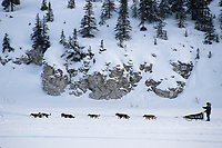 Ramy Brooks on Fish River Near White Mountain<br /> 2004 Iditarod