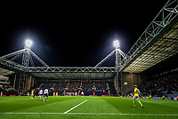 Leeds United's Ezgjan&nbsp;Alioski controls the ball during the second half<br /> <br /> Photographer Alex Dodd/CameraSport<br /> <br /> The EFL Sky Bet Championship - Preston North End v Leeds United -Tuesday 9th April 2019 - Deepdale Stadium - Preston<br /> <br /> World Copyright &copy; 2019 CameraSport. All rights reserved. 43 Linden Ave. Countesthorpe. Leicester. England. LE8 5PG - Tel: +44 (0) 116 277 4147 - admin@camerasport.com - www.camerasport.com