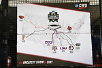 OMAHA, NE - JUNE 26: The path that the final eight teams took to the College World Series as Louisiana State University takes on the University of Florida during the Division I Men's Baseball Championship held at TD Ameritrade Park on June 26, 2017 in Omaha, Nebraska. The University of Florida defeated Louisiana State University 4-3 in game one of the best of three series. (Photo by Justin Tafoya/NCAA Photos via Getty Images)