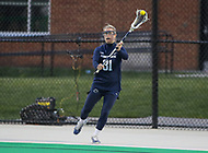 College Park, MD - April 19, 2018: Penn State Nittany Lions Shelby Wells (31) passes the ball during game between Penn St. and Maryland at  Field Hockey and Lacrosse Complex in College Park, MD.  (Photo by Elliott Brown/Media Images International)