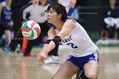 Saori Kimura (), <br /> DECEMBER 18, 2016 - Volleyball : <br /> All Japan Women's Volleyball Championships <br /> Quarter-final match <br /> between Toray Arrows - Okayama Seagulls <br /> at Tokyo Metropolitan Gymnasium, Tokyo, Japan. <br /> (Photo by AFLO SPORT)