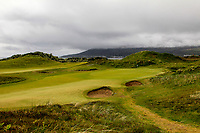 The the 5th green during Matchplay Semi-Finals of the Women's Amateur Championship at Royal County Down Golf Club in Newcastle Co. Down on Saturday 15th June 2019.<br /> Picture:  Thos Caffrey / www.golffile.ie