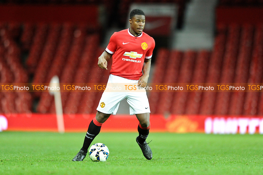 Tyler Reid of Manchester United - Manchester United Youth vs Hull City Youth - FA Youth Cup 4th Round Football at Old Trafford, Greater Manchester - 13/01/15 - MANDATORY CREDIT: Greig Bertram/TGSPHOTO - Self billing applies where appropriate - contact@tgsphoto.co.uk - NO UNPAID USE
