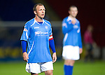 St Johnstone FC...Season 2011-12.Jody Morris.Picture by Graeme Hart..Copyright Perthshire Picture Agency.Tel: 01738 623350  Mobile: 07990 594431