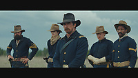 Hostiles (2017) <br /> Christian Bale, Rory Cochrane, Jesse Plemons, Timoth&eacute;e Chalamet, and Jonathan Majors <br /> *Filmstill - Editorial Use Only*<br /> CAP/KFS<br /> Image supplied by Capital Pictures