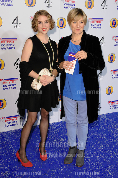 Victoria Wood arriving for the British Comedy Awards 2011 at Fountains Studios, Wembley, London. 19/12/2011 Picture by: Steve Vas / Featureflash