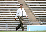 1 September 2007: UNC head coach Anson Dorrance. The University of South Carolina Gamecocks defeated the University of North Carolina Tar Heels 1-0 at Fetzer Field in Chapel Hill, North Carolina in an NCAA Division I Womens Soccer game.
