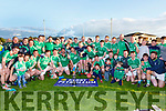 The Ballyduff team celebrate after defeating Renard  in the Junior Club Championship final in Killorglin on Saturday