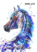 Simon, REALISTIC ANIMALS, REALISTISCHE TIERE, ANIMALES REALISTICOS, innovative, paintings+++++A_KatherineW_SplatterStallion,GBWR235,#a#, EVERYDAY