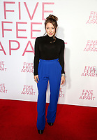 07 March 2019 - Westwood, California - Alexandra Vino. &quot;Five Feet Apart&quot; Los Angeles Premiere held at the Fox Bruin Theatre. <br /> CAP/ADM/FS<br /> &copy;FS/ADM/Capital Pictures